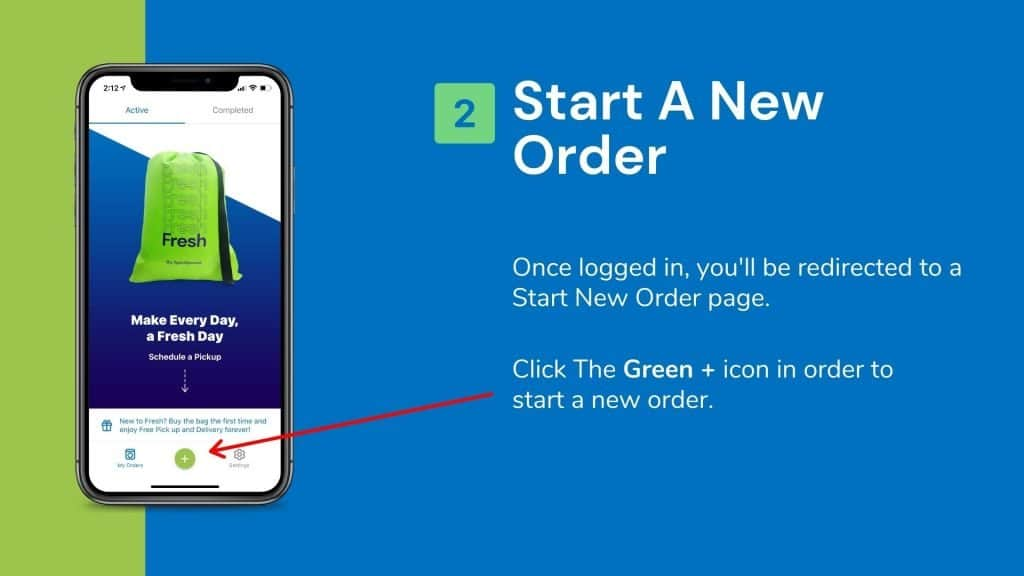 How To Place An Order In Fresh App 1