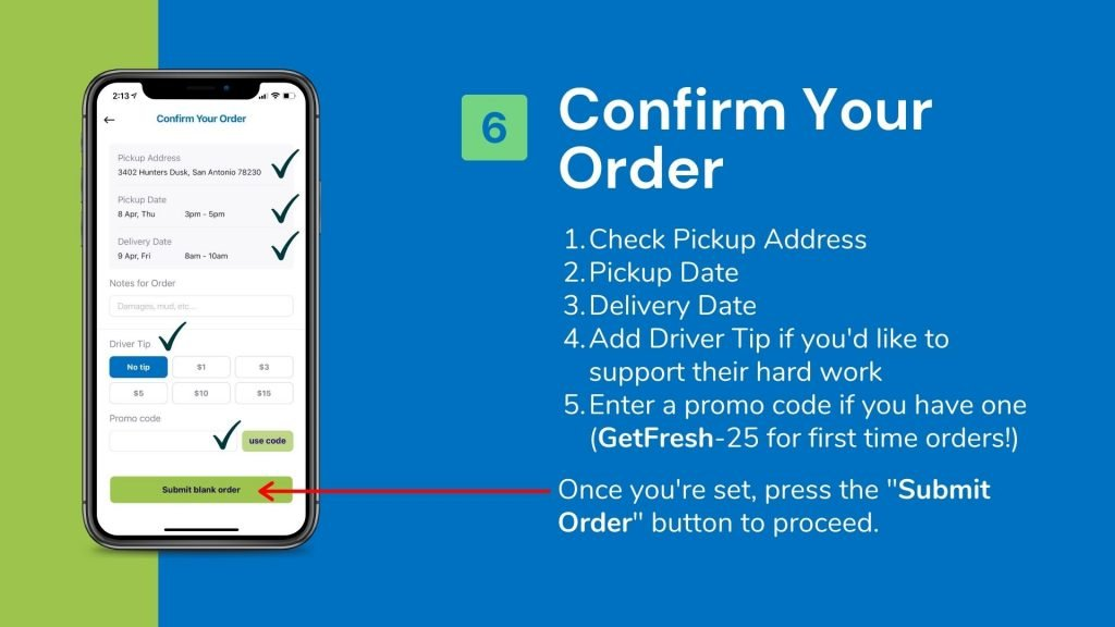 How To Place An Order In Fresh App 6